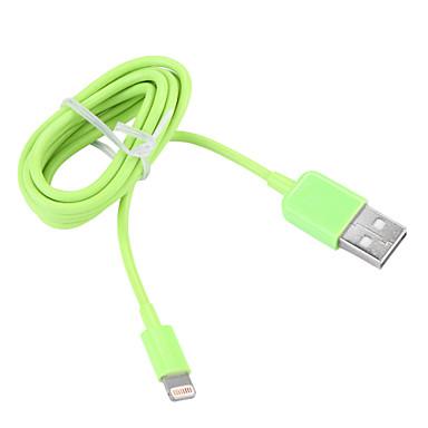 USB 3.0 Belysning USB-kabeladapter Data og synkronisering Ledning Ladingskabel Fletted ladingskabel Normal Kabel Til iPad Apple iPhone 100