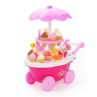 Brinquedo de gelado Carros de Brinquedo Brinquedos de Faz de Conta Navio Mobília Sorvete Crianças Dom 1pcs