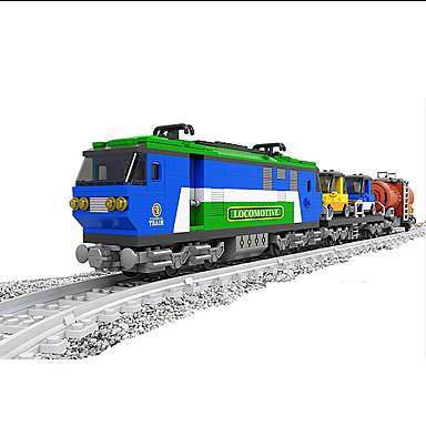 AUSINI Byggeklosser 573pcs Tog Elektrisk / Originale / Kul Tog / Tog- og jernbanesett Gutt Gave