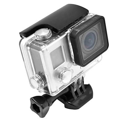 Smooth Frame Schutzhülle Wasserfestes Gehäuse Hülle Halterung Wasserfest, Für-Action Kamera,Gopro 4 Gopro 3+