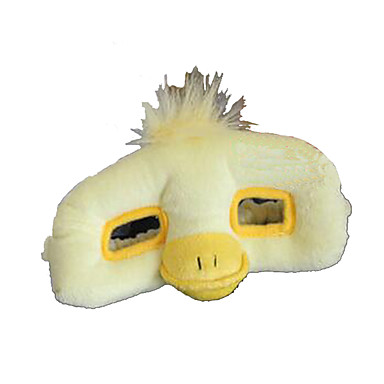 voordelige Knuffels & Pluche dieren-Halloweenmaskers Dierenmasker Knuffels & Pluche dieren Pluche Cartoon Eend Horrorthema Unisex