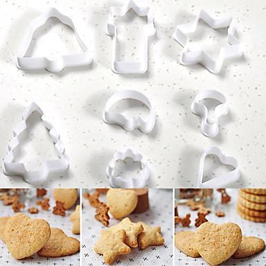 Bakeform Sjokolade Til Småkake Kake Plast Valentinsdag Nyttår Påske Bursdag Bryllup Jul Halloween