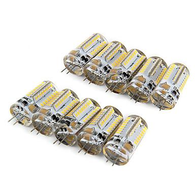 10pçs 210lm G4 Lâmpadas Espiga T 64 Contas LED SMD 3014 Branco Quente Branco Frio 220-240V