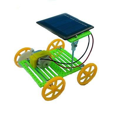 Soldrevne leker Pedagogisk leke Bil Kreativ Originale ABS Gutt Barne Gave