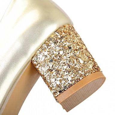 Chaussures Bottier Printemps Femme Polyuréthane Automne Talons Block Chaussures Talon Confort Eté 05582876 Marche à Nouveauté Similicuir OAaf8Raq