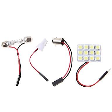 2pcs BA9S Carro Lâmpadas 4.5W SMD 5050 320lm LED Iluminação interior