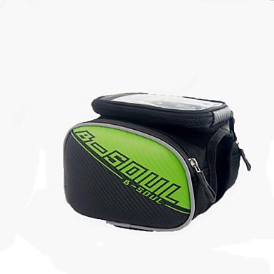 Bolsa Celular / Bolsa para Quadro de Bicicleta 5.7 polegada Sensível ao Toque Ciclismo para Samsung Galaxy S6 / iPhone 5C / iPhone 4/4S