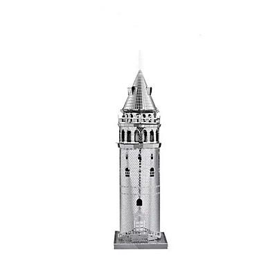 3D-puslespill / Puslespill / Metallpuslespill Tårn / Kjent bygning GDS / Klassisk Gutt Gave