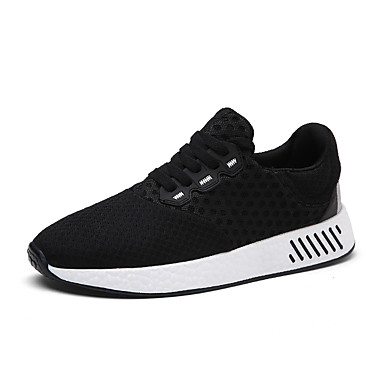 Men's Shoes Tulle Spring / Summer / Fall Comfort Sneakers Black / Gray / Blue