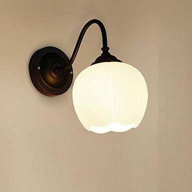 ريفي / بلدي / زهري / الحديثة / المعاصرة مصابيح الحائط معدن إضاءة الحائط 220V / 110V 60W