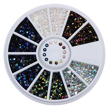 1SET Glitters / Fashion Diário Nail Art Design