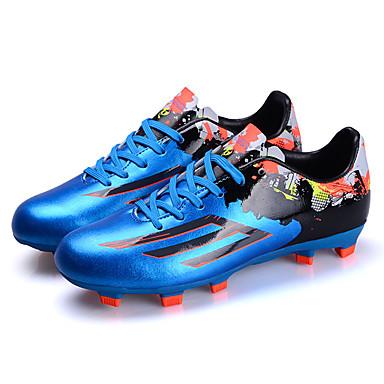 billige Fotballsko-Herre joggesko / Fotball klossene / fotball Boots Fritidssport / Fotball Anti-Skli, Demping, Ultra Lett (UL) Oransje / Gul / Blå