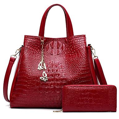Damen Taschen PU Bag Set 2 Stück Geldbörse Set für Hochzeit Veranstaltung / Fest Normal Formal Büro & Karriere Ganzjährig Blau Weiß