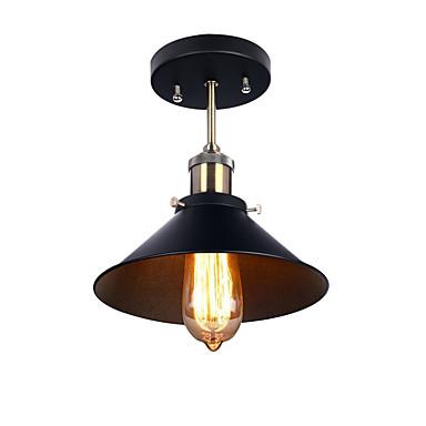 الصناعية البسيطة اديسون ضوء السقف مطعم مقهى 1-ضوء نمط خمر دافق جبل الخفيفة