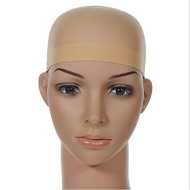tanie Uroda i włosy-Akcesoria do peruk Nylon Siatki pod perukę / Stocking Wig Cap Siatki do włosów Ultra Stretch Liner 1 pcs Codzienny Klasyczny Nude