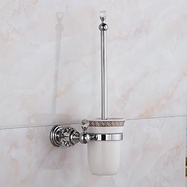 Escovas e acionistas WC Modern Latão 1 Pça. - Banho do hotel