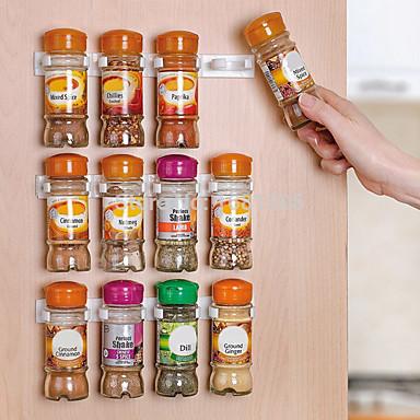 1pç Outros Acessórios Plástico Fácil Uso Organização de cozinha