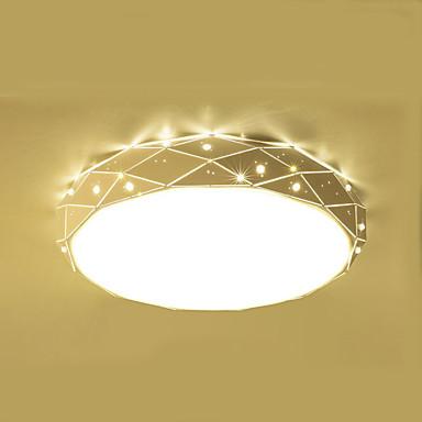 تركيب السقف المدمج ضوء محيط الكروم معدن LED 220-240V وشملت مصدر ضوء LED / LED متكاملة