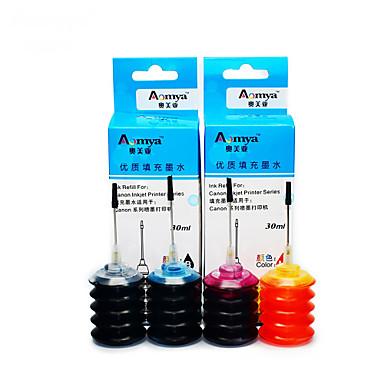 hp 802 ink refill blæk 10.001.050 en pakke med 4 kasser, hver boks forskellige farver, sort, blå, rød, gul
