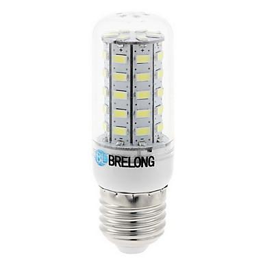 4 Вт. 350 lm E14 G9 GU10 E26/E27 B22 LED лампы типа Корн 48 светодиоды SMD 5630 Декоративная Тёплый белый Холодный белый AC 100-240 В AC