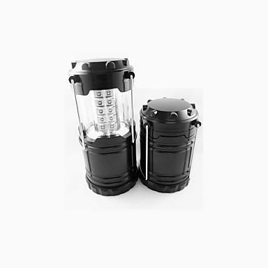 abordables Lampes & Lanternes de Camping-Lampes Torches LED LED - Émetteurs 2 Mode d'Eclairage Imperméable Intensité Réglable Camping / Randonnée / Spéléologie Usage quotidien Noir