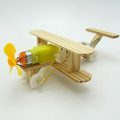 voordelige 3D-puzzels-Modelbouwsets Educatief speelgoed Vliegtuig Drumstel DHZ Electrisch Kinderen Volwassenen Jongens Meisjes Speeltjes Geschenk