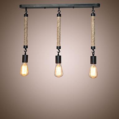 3-الضوء العنقودية أضواء معلقة ضوء محيط طلاء ملون معدن المصممين 110-120V / 220-240V لا يشمل لمبات / E26 / E27
