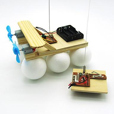 voordelige 3D-puzzels-Speelgoedauto's Windmolen Houten modellen Windmolen DHZ Puinen Kinderen Volwassenen Jongens Meisjes Speeltjes Geschenk
