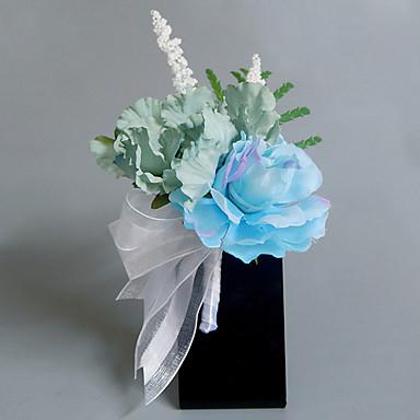 Bouquets de Noiva Buquês / Alfinetes de Lapela / Outros Casamento / Festa / Noite Material / Renda / Cetim 0-20cm