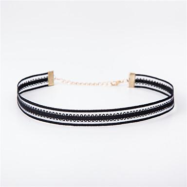 للمرأة قلادات ضيقة - دانتيل تصميم فريد, موديل الوشم, أساسي أسود قلادة مجوهرات من أجل زفاف, الذكرى السنوية, عيد ميلاد
