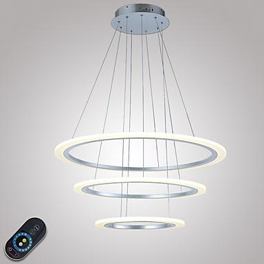 ペンダントライト アンビエントライト - クリスタル, 調光可能, LED, 110-120V / 220-240V, Warm White / Cold White, LED光源を含む / 10-15㎡ / 集積LED