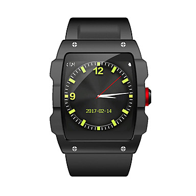 Smart Watch GPS Touchscreen Wasserdicht Verbrannte Kalorien Schrittzähler Video Media Control Übungs Tabelle Kamera Distanz Messung