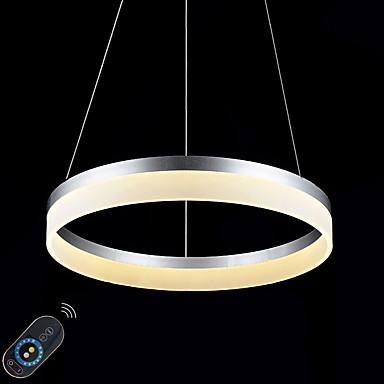 Luzes Pingente Luz Ambiente - Regulável LED Dimmable Com Controle Remoto, Regional Tradicional / Clássico Moderno / Contemporâneo,