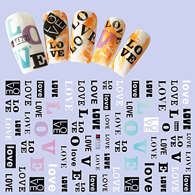 1pcs 3D nálepky na nehty Módní Denní Vysoká kvalita