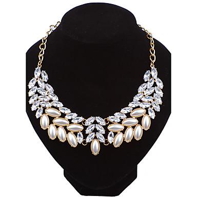 Damen Kragen - Euramerican Modisch Gold Modische Halsketten Für Hochzeit Party Besondere Anlässe Jahrestag Geburtstag Herzliche