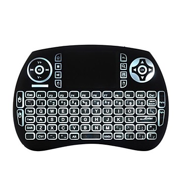 Air Mouse Keyboard Backlit Flying Squirrels KP21BTL Bluetooth 2 4GHz  Wireless for Android TV Box and PC with Touchpad