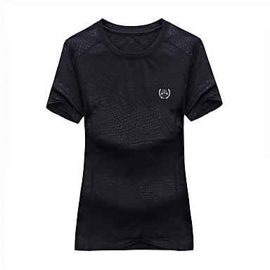 Homens Mulheres Camiseta de Trilha Ao ar livre Prova-de-Água Secagem Rápida Respirável Camiseta Blusas Alpinismo