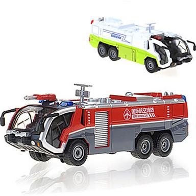 KDW Caminhão de Bombeiro Caminhões & Veículos de Construção Civil Carros de Brinquedo 01:50 Metalic Para Meninos Crianças Brinquedos Dom