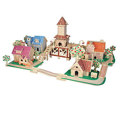 3D퍼즐 유명한 빌딩 재미 나무 클래식