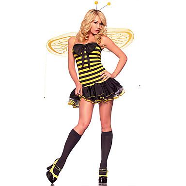 Cosplay Kostýmy cosplay Festival/Svátek Halloweenské kostýmy Ostatní Šaty Křídla Tanga Vlasové ozdoby Halloween Dámské Spandex Terylen