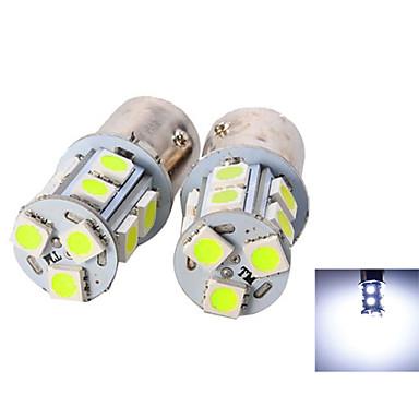 2pcs 1156 Carro Lâmpadas SMD 5050 135lm LED Luz traseira For Universal