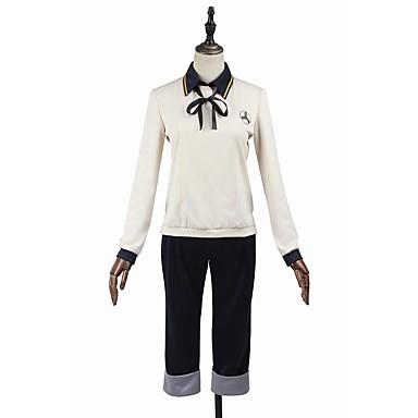 Inspiriert von Cosplay Cosplay Anime Cosplay Kostüme Cosplay Kostüme Cosplay Tops / Bottoms Modisch Langarm Top Hosen Für Herrn Damen