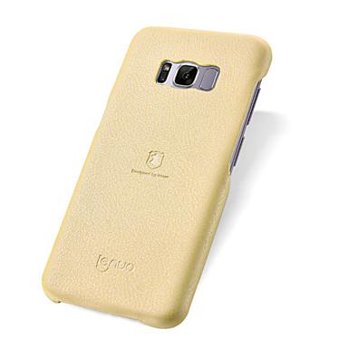 Capinha Para Samsung Galaxy S8 Plus S8 Antichoque Ultra-Fina Capa traseira Côr Sólida Macia PU Leather para S8 Plus S8