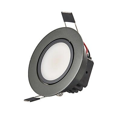 3W 250 lm 2G11 Downlight de LED Encaixe Embutido 1 leds COB Regulável Decorativa Branco Quente Branco Frio AC 110-130V AC 220-240V
