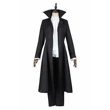 Inspirovaný Bungo Stray Dogs Tanaka Ryunosuke Anime Cosplay kostýmy Cosplay šaty Módní Dlouhý rukáv Kabát Vrchní deska Kalhoty Pro Pánské