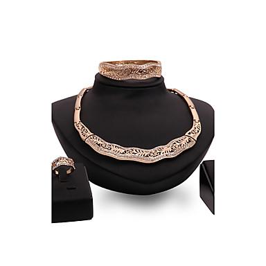 Dámské Sady šperků imitace drahokamu Přizpůsobeno Vintage Velké šperky Euramerican Módní Svatební Párty Zvláštní příležitosti Gratulace
