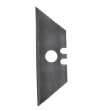 Stahlschild mit Lochschneider / 1