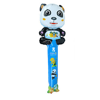 Balões Brinquedos Forma Cilindrica Panda Inflável Festa Alumínio Unisexo Crianças Dom