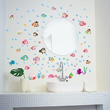 Autocolantes de Parede Decorativos - Autocolantes de Aviões para Parede Animais / Moda / Desenho Animado Sala de Estar / Quarto / Banheiro