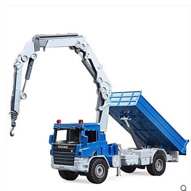 KDW Guindaste Caminhões & Veículos de Construção Civil Carros de Brinquedo Metal Para Meninos Brinquedos Dom